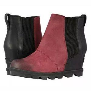Sorel Joan of Arctic Wedge II Ankle Boots Size 8.5